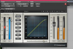 Waves C1 compressor in use